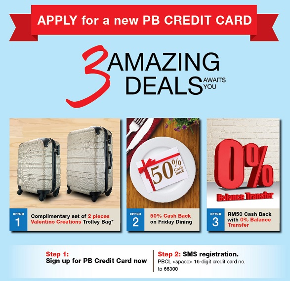 public bank credit card promotion apply new credit card with 3 amazing deals awaits you. Black Bedroom Furniture Sets. Home Design Ideas