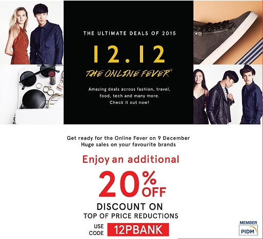 Public Bank Credit Card Promotion 12 12 The Online Fever With Zalora